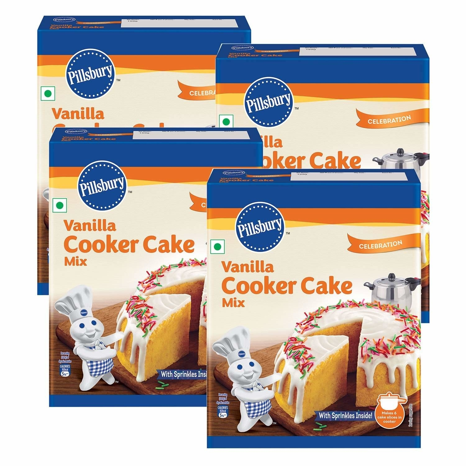 Packaging of the cooker cake