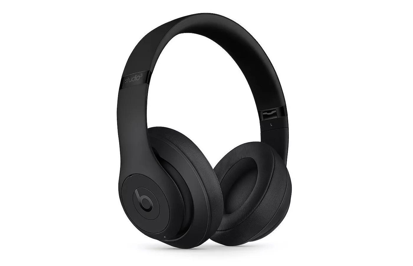 Beats Studio3 wireless over-ear headphones in matte black