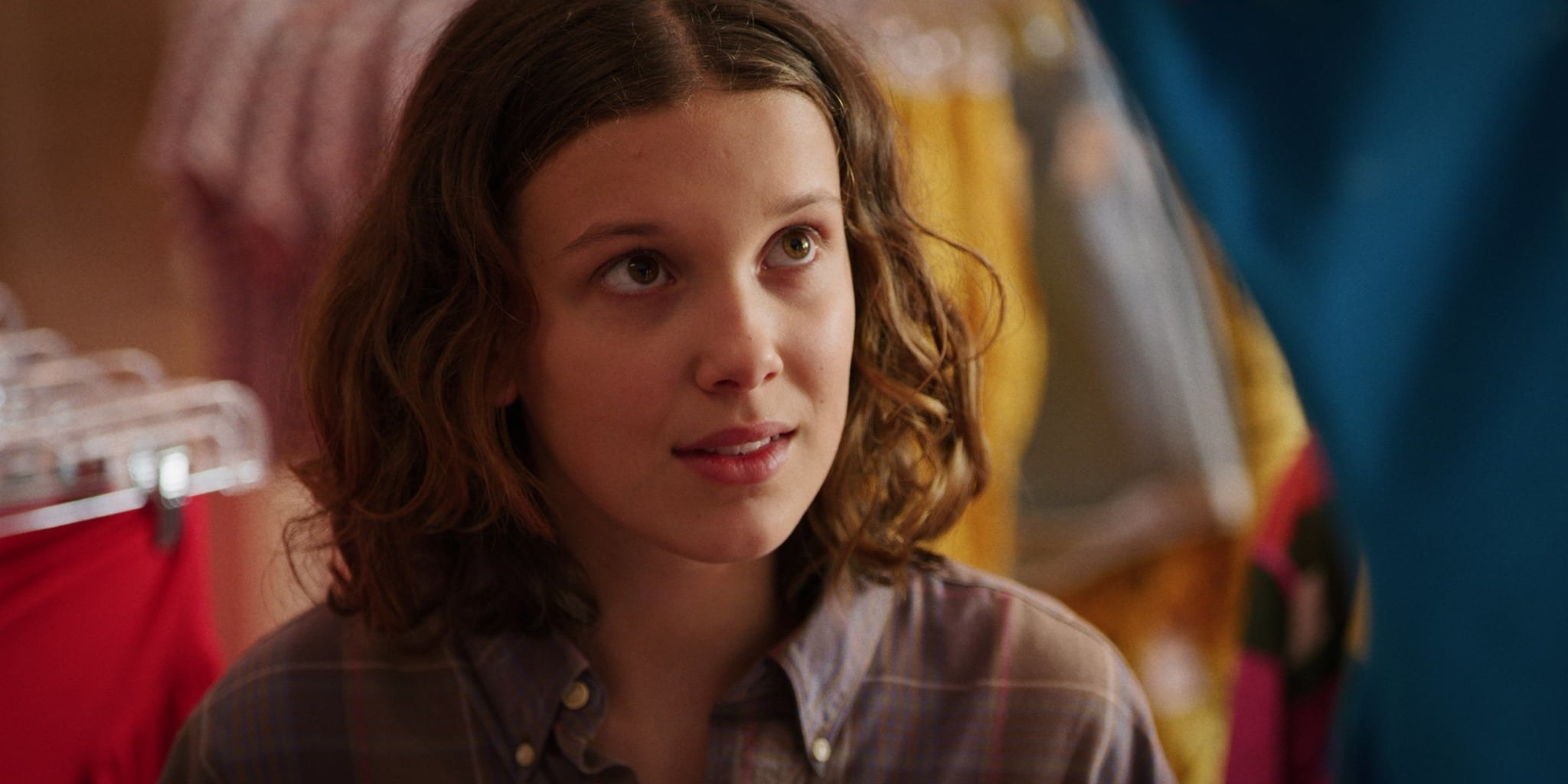 Eleven in a clothing store