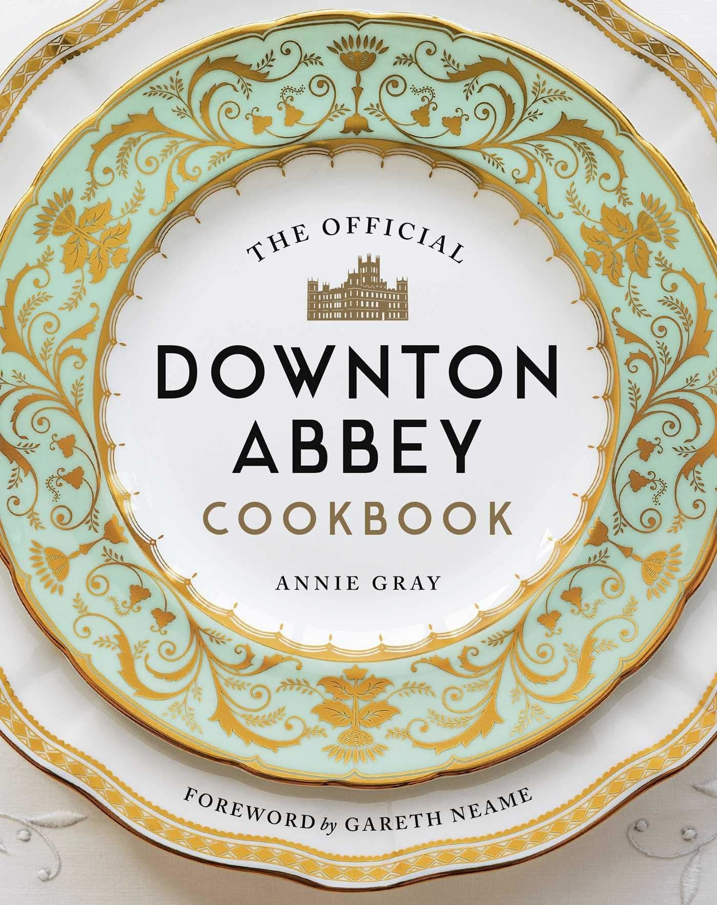 """A cover of """"The Official Downton Abbey cookbook"""""""