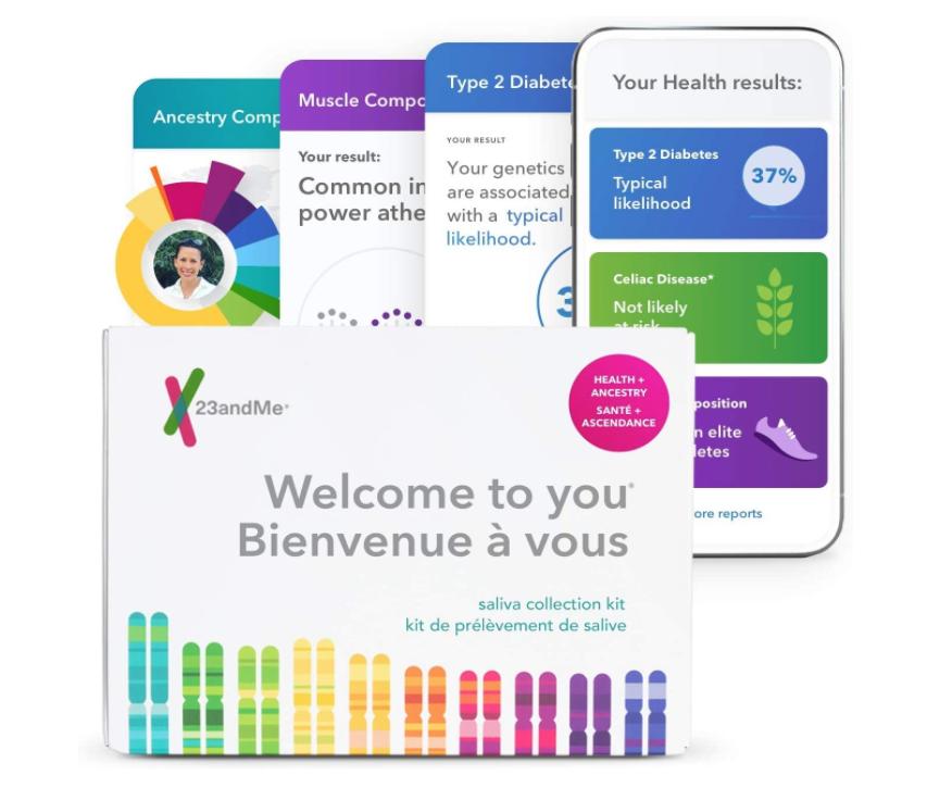 A 23andMe genetic box set