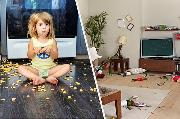 Show Us A Photo Of The Biggest, Most Epic Mess Your Kid Made In Your Home
