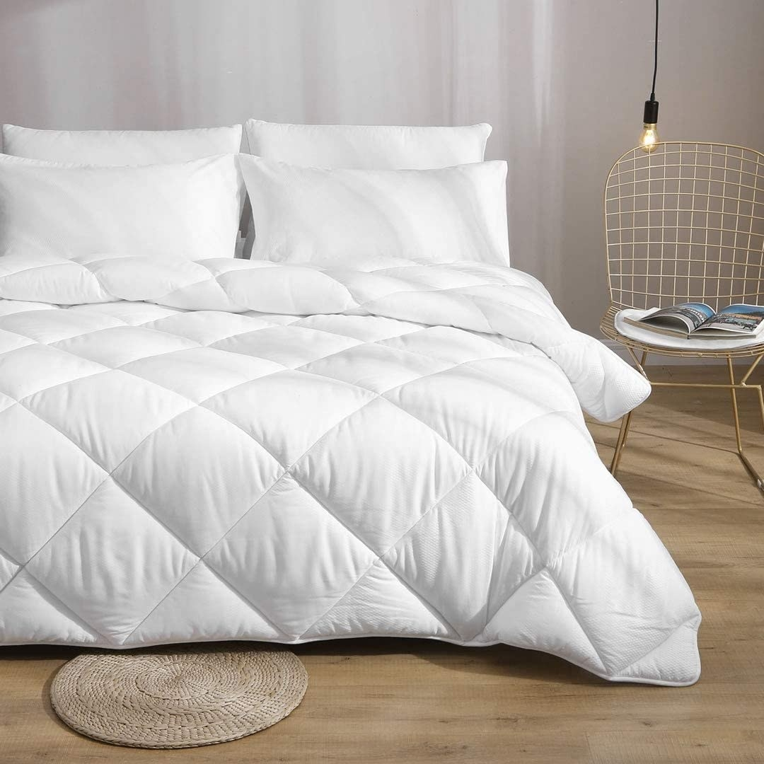 The quilted duvet