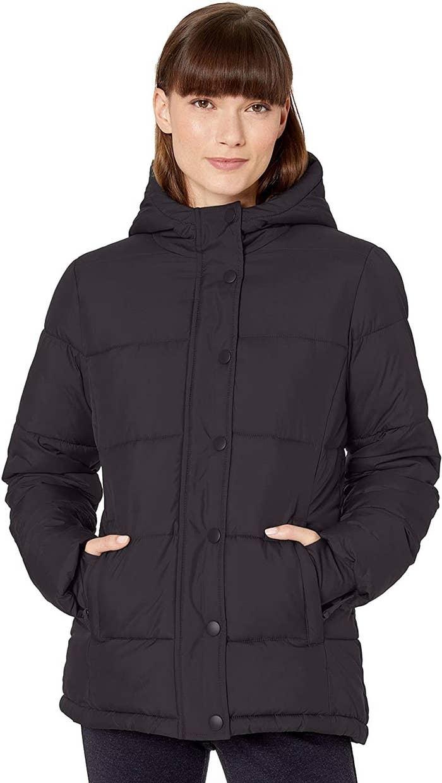Model in the black coat