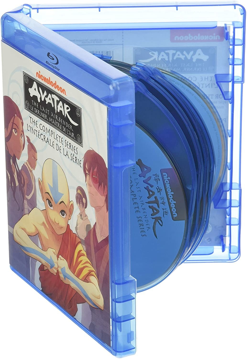 The Blu-ray collection of Avatar: The Last Airbender