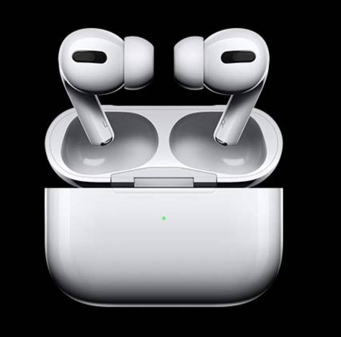 Apple airpods pro outside their charging case