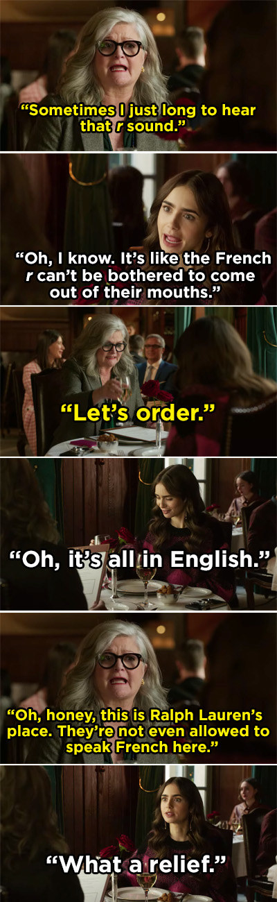 """Emily and Judith talking about how they are annoyed French people don't pronounce the letter """"r"""""""