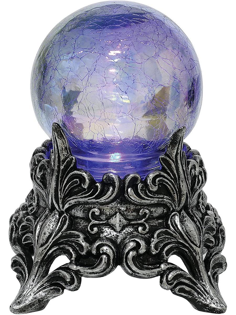 Crystal ball decoration