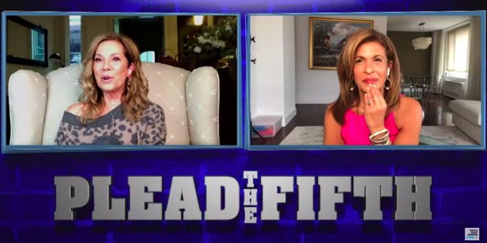 """Kathie Lee Gifford and Hoda Kotb playing """"Plead the Fifth"""""""