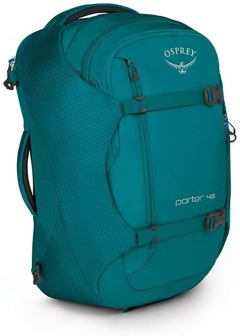 Mineral teal travel backpack