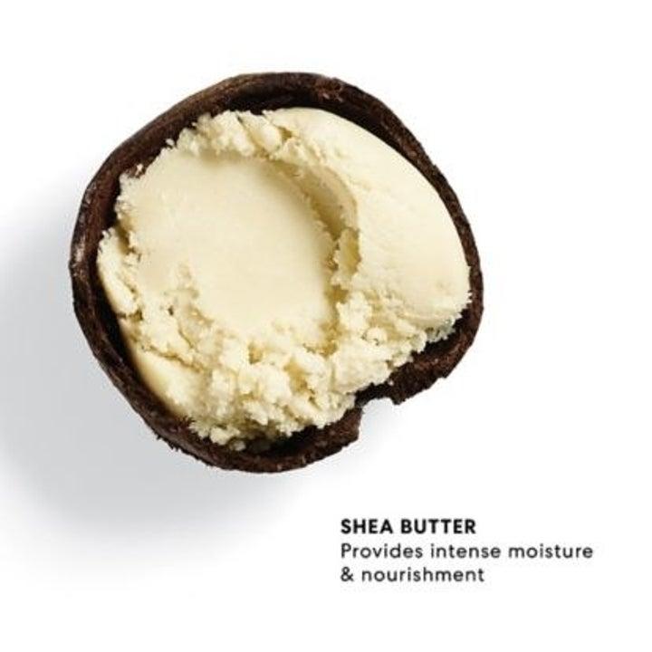 Shea butter provides intense moisture