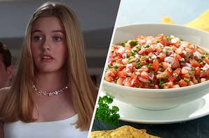 """Cher from """"Clueless"""" and salsa"""