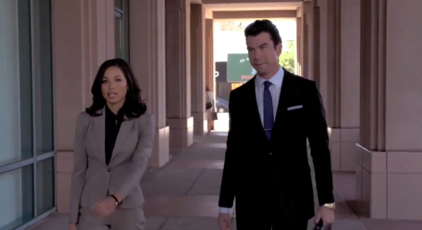 Jurnee and Jerry O'Connell in Defenders