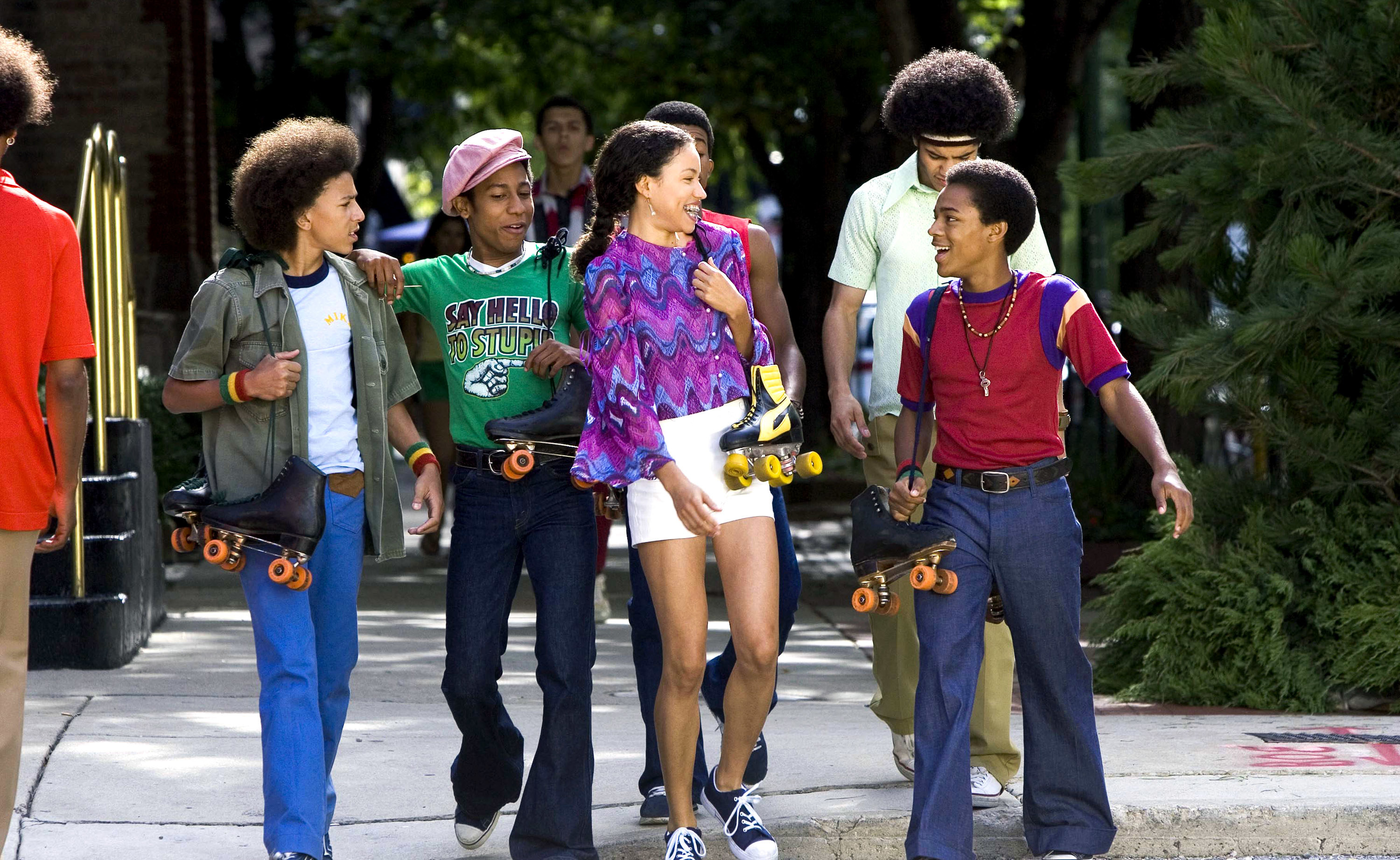 A still from Roll Bounce
