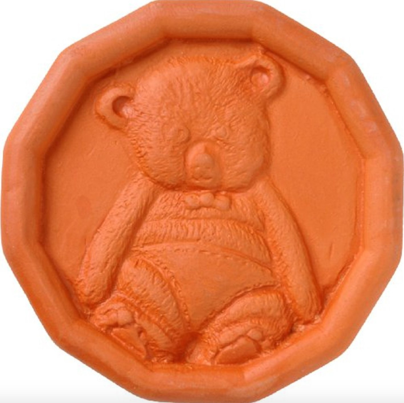 The round terra cotta bear