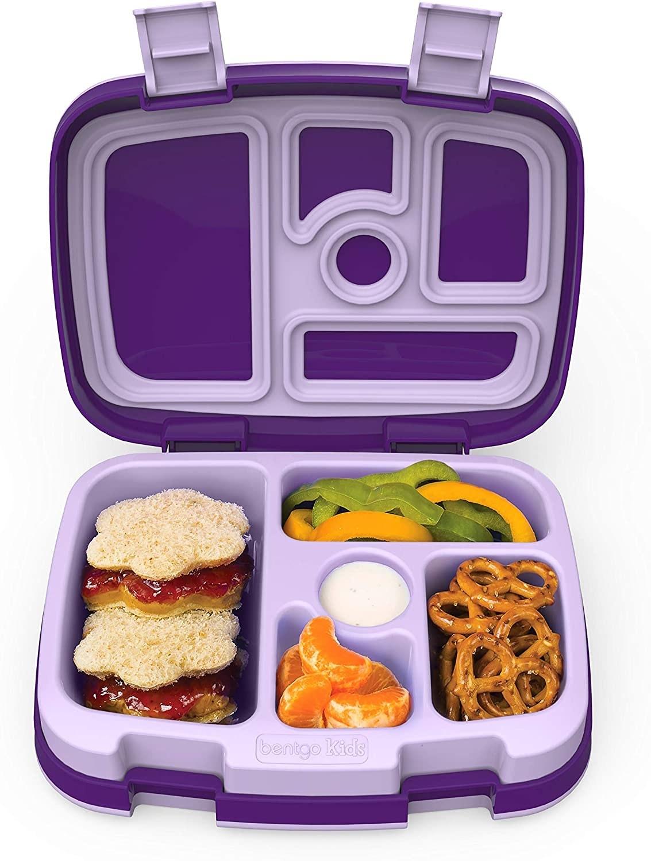 The bento box in purple