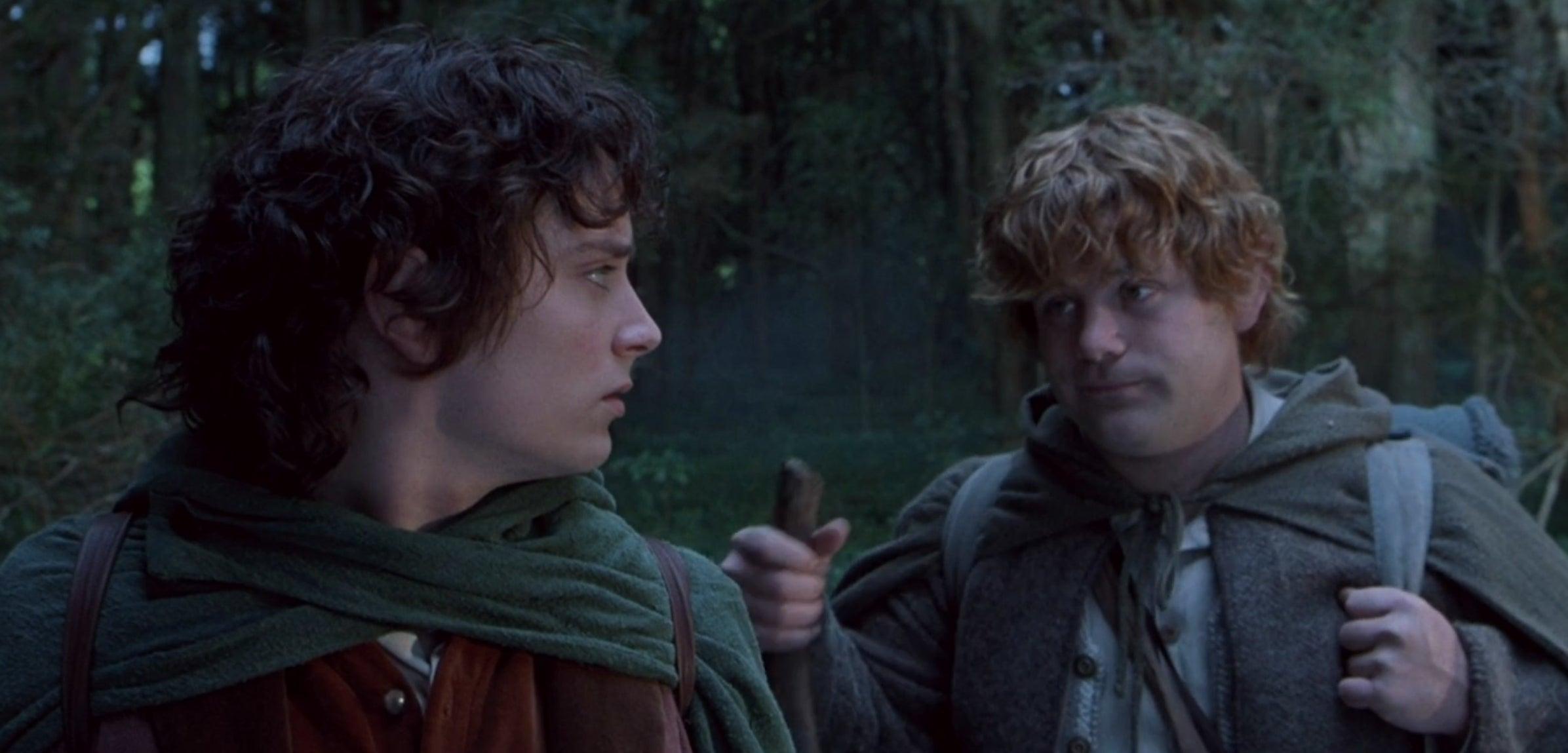 Two men in cloaks