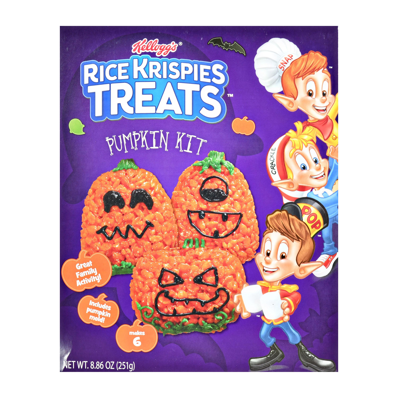 Rice Krispie Treats pumpkin kit