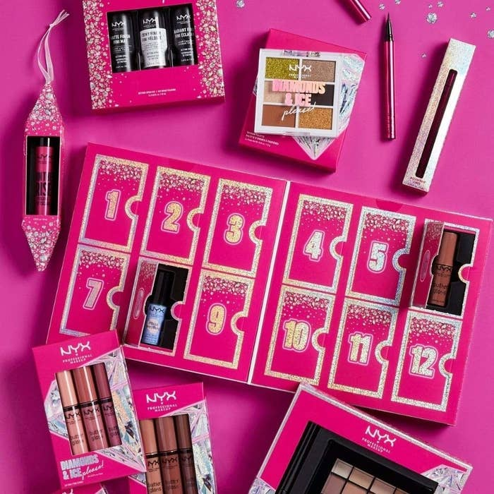 the pink holiday calendar