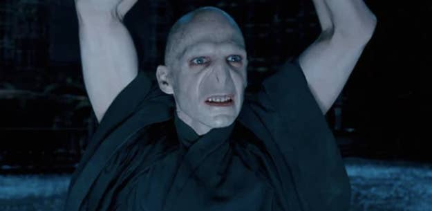 """Voldemort in shock after Harry doesn't die in """"Order of the Phoenix"""""""