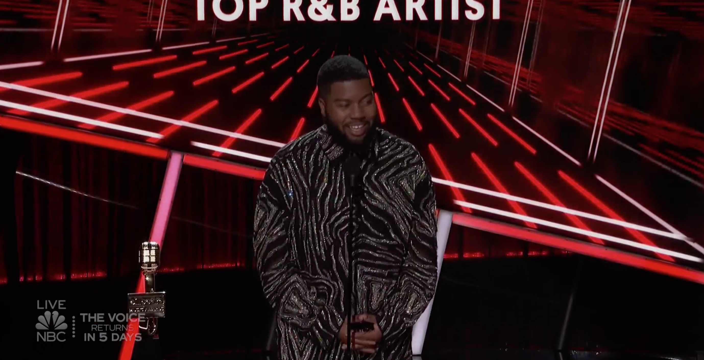 Khalid  at the 2020 Billboard Music Awards