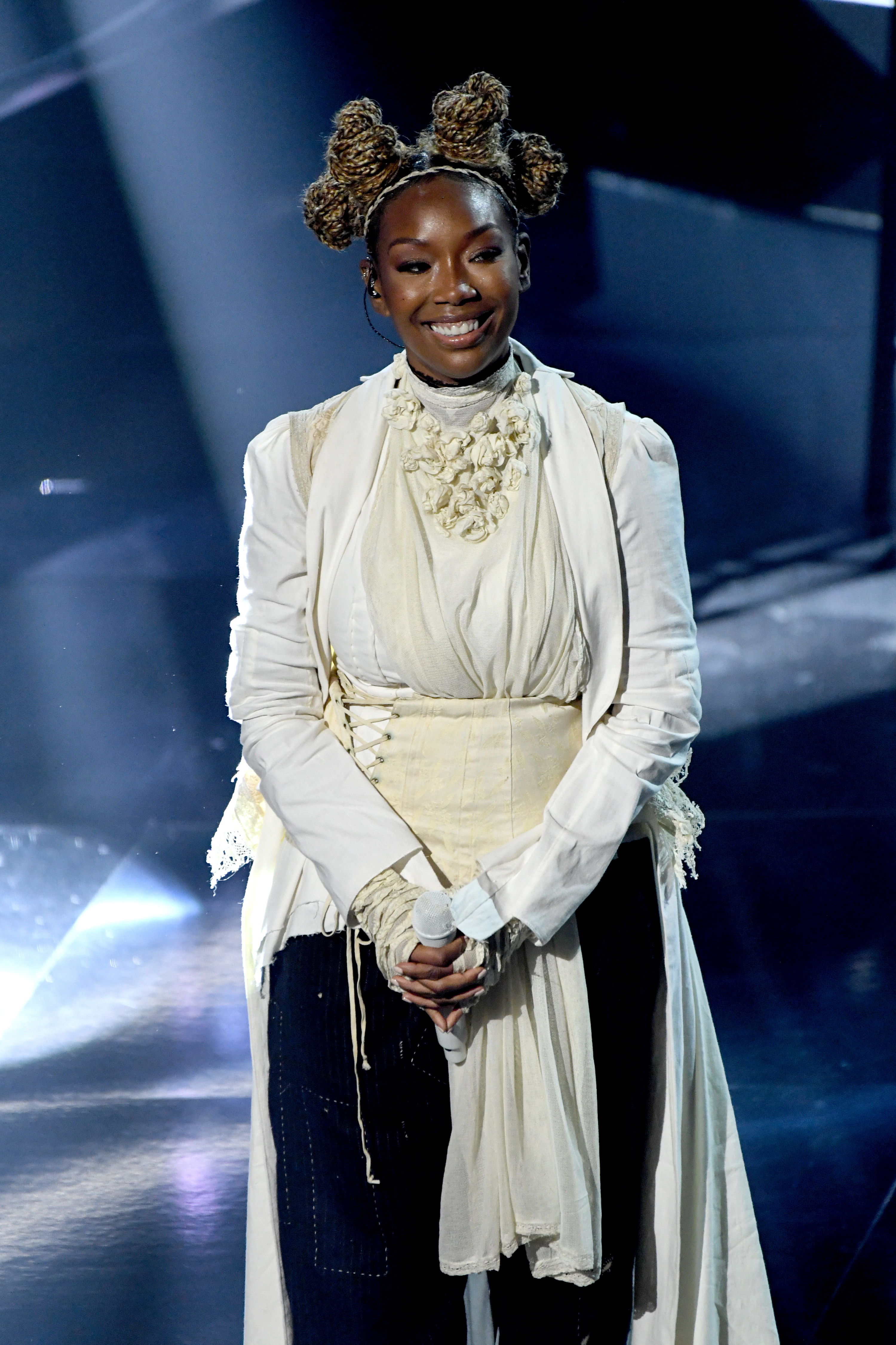 Brandy at the 2020 Billboard Music Awards