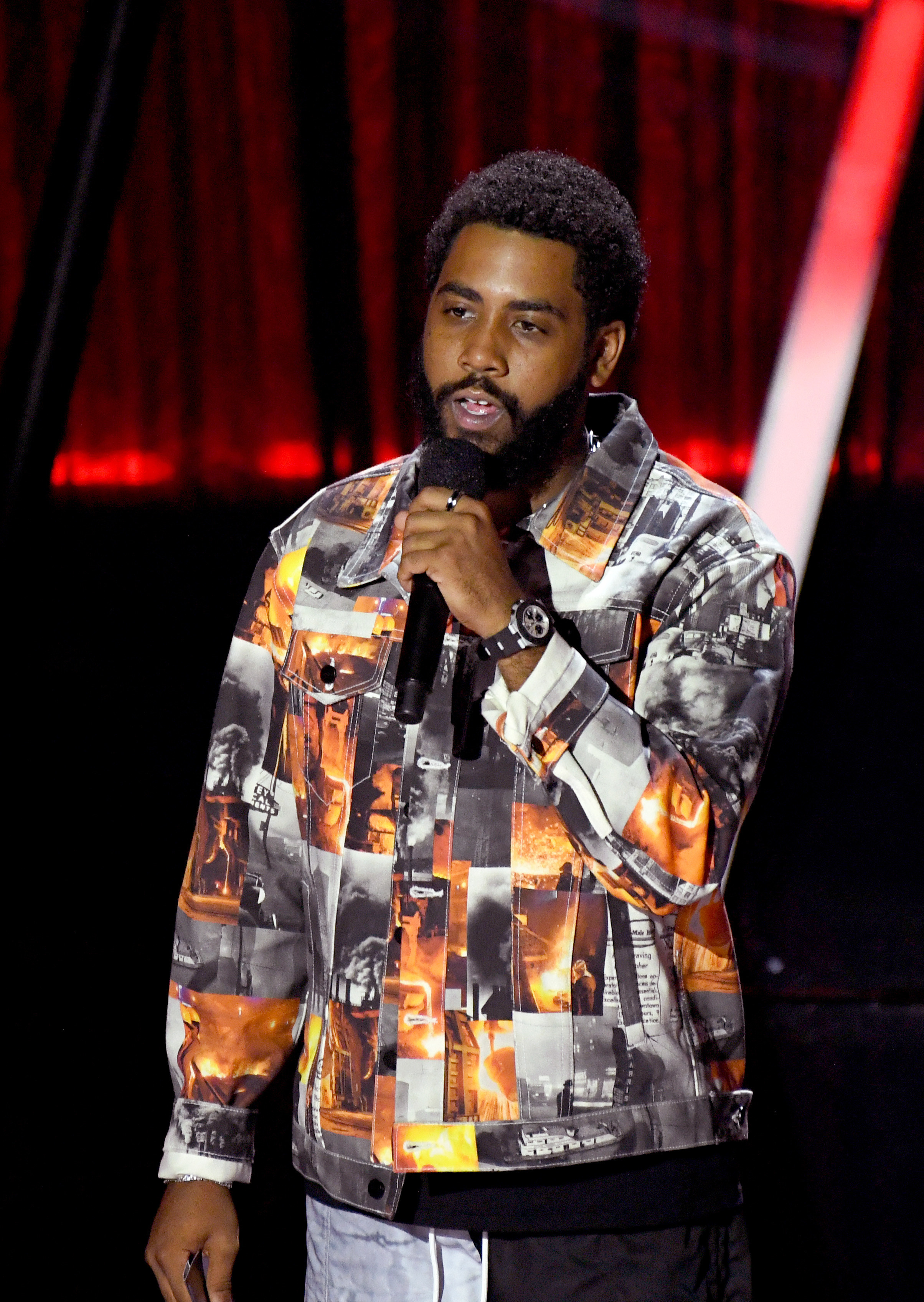 Jharrel Jerome at the 2020 Billboard Music Awards
