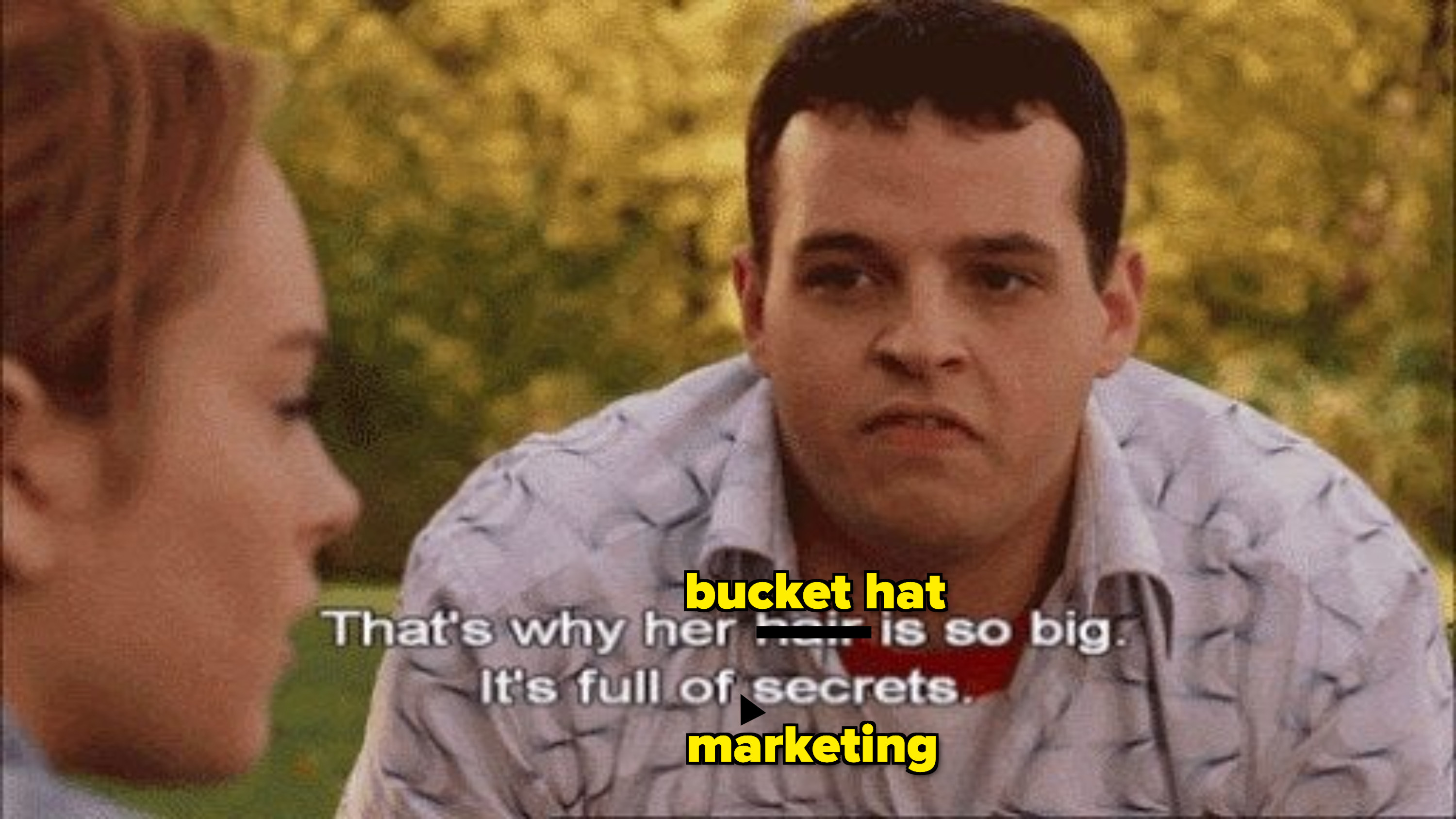 A meme of Damien from Mean Girls.