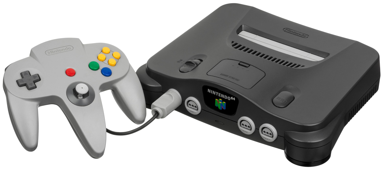A photo of an N64