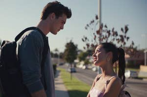 """Nate and Maddy from """"Euphoria"""""""