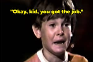 Elliot from E.T. crying, captioned,
