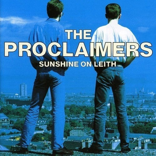 album cover of Sunshine on Leith showing the backs of Craig and Charles Reid of the Proclaimers