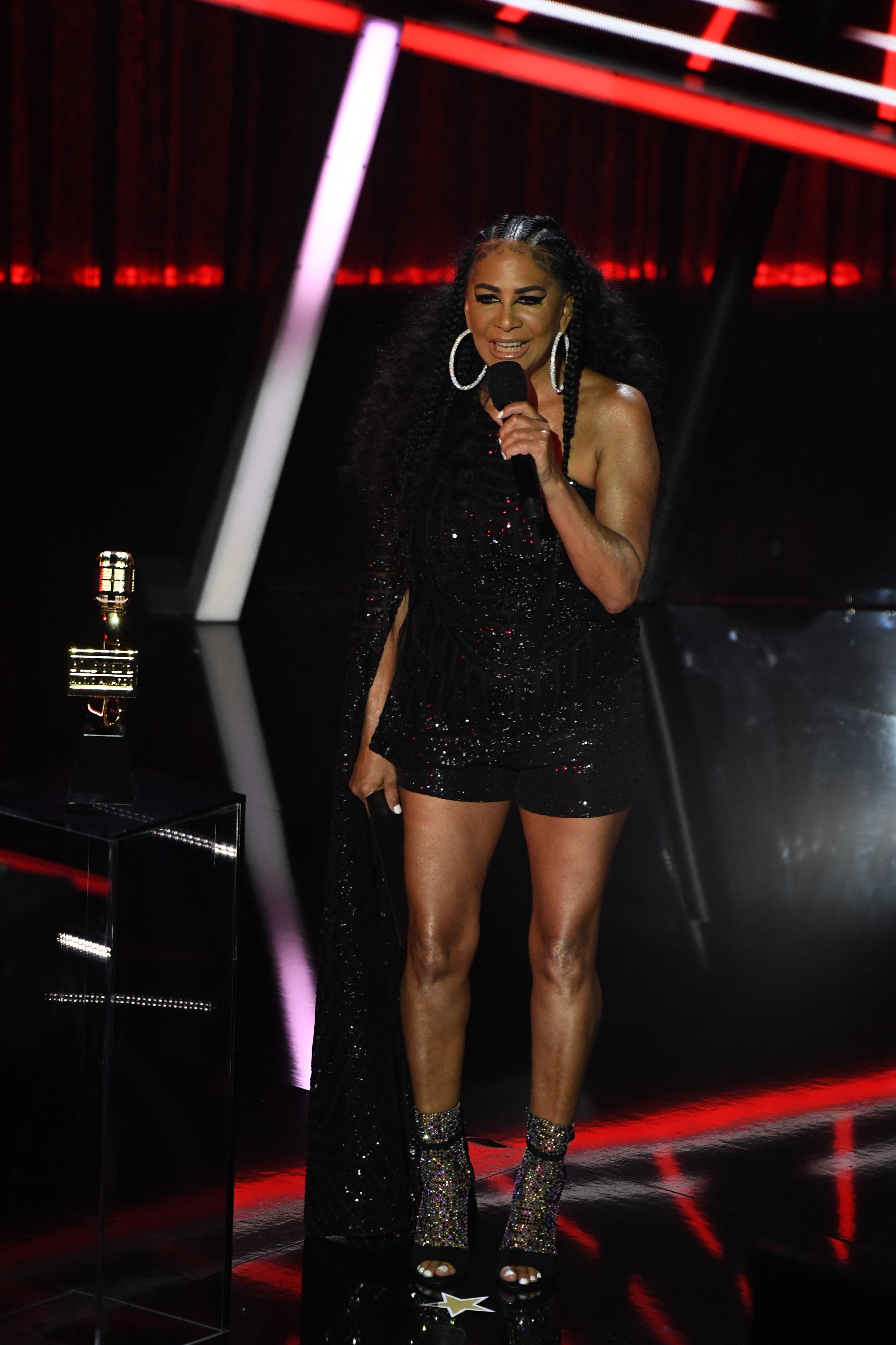 Sheila E. at the 2020 Billboard Music Awards