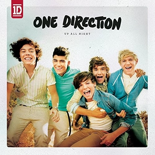 album cover of Up All Night showing One Direction