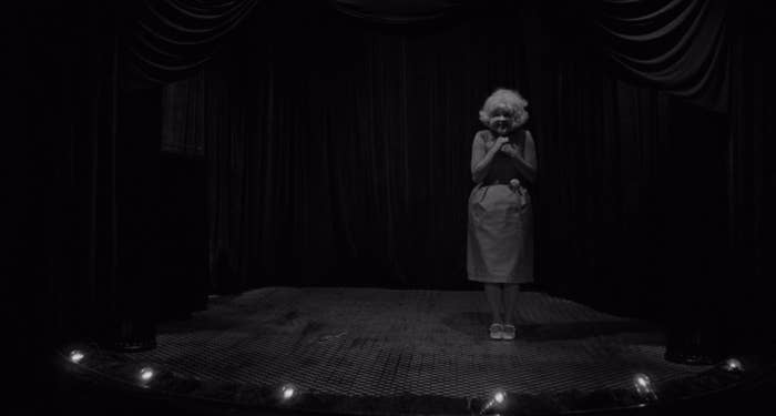 Laurel Near as the Lady in the Radiator in 'Eraserhead'