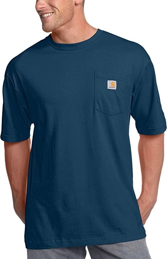 Model wearing Carhartt shirt