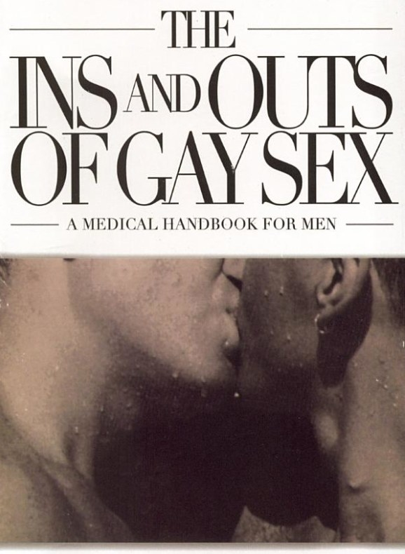 The cover of The Ins and Outs of Gay Sex by Stephen E. Goldstone