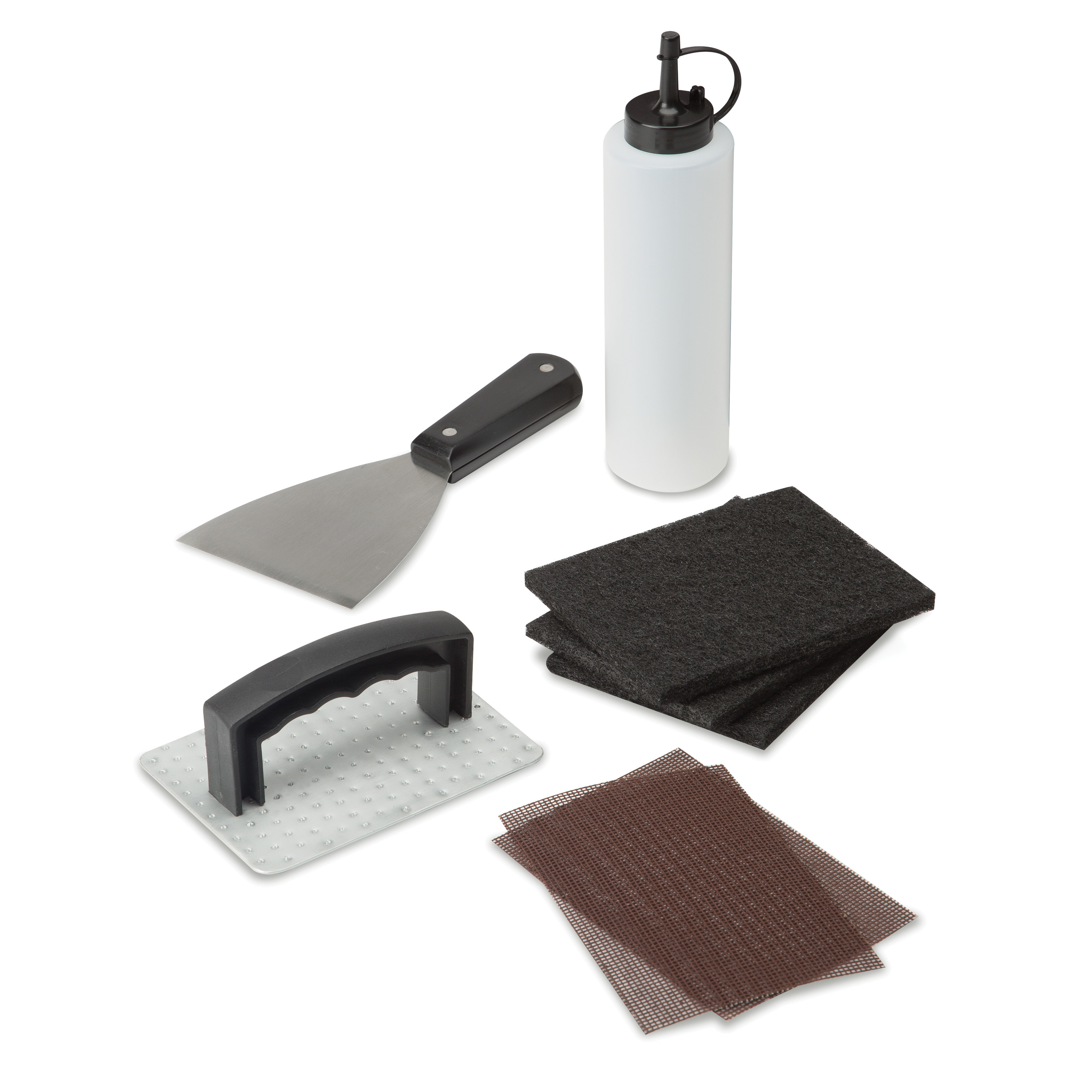 The griddle-cleaning kit