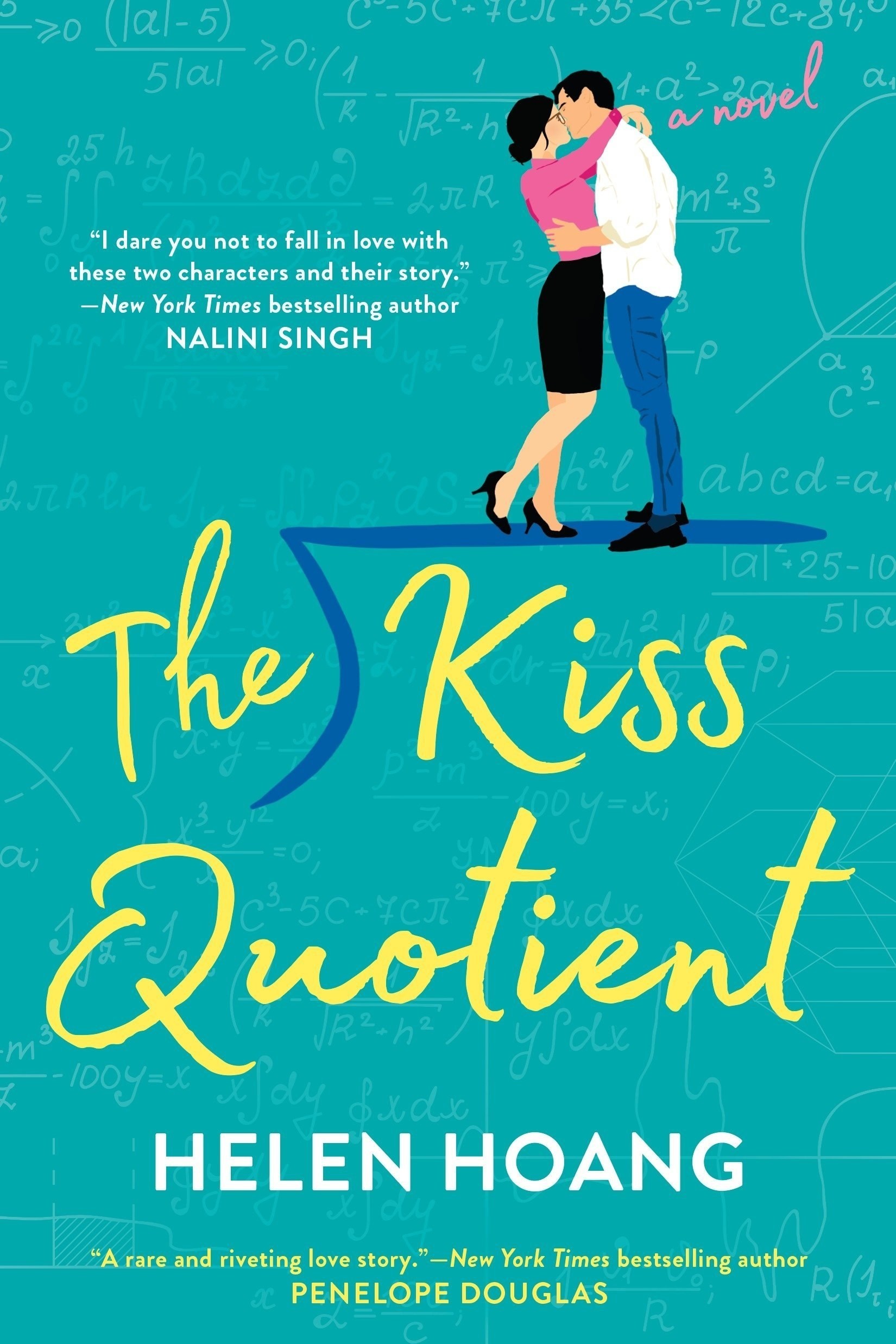 """The cover of """"The Kiss Quotient"""""""