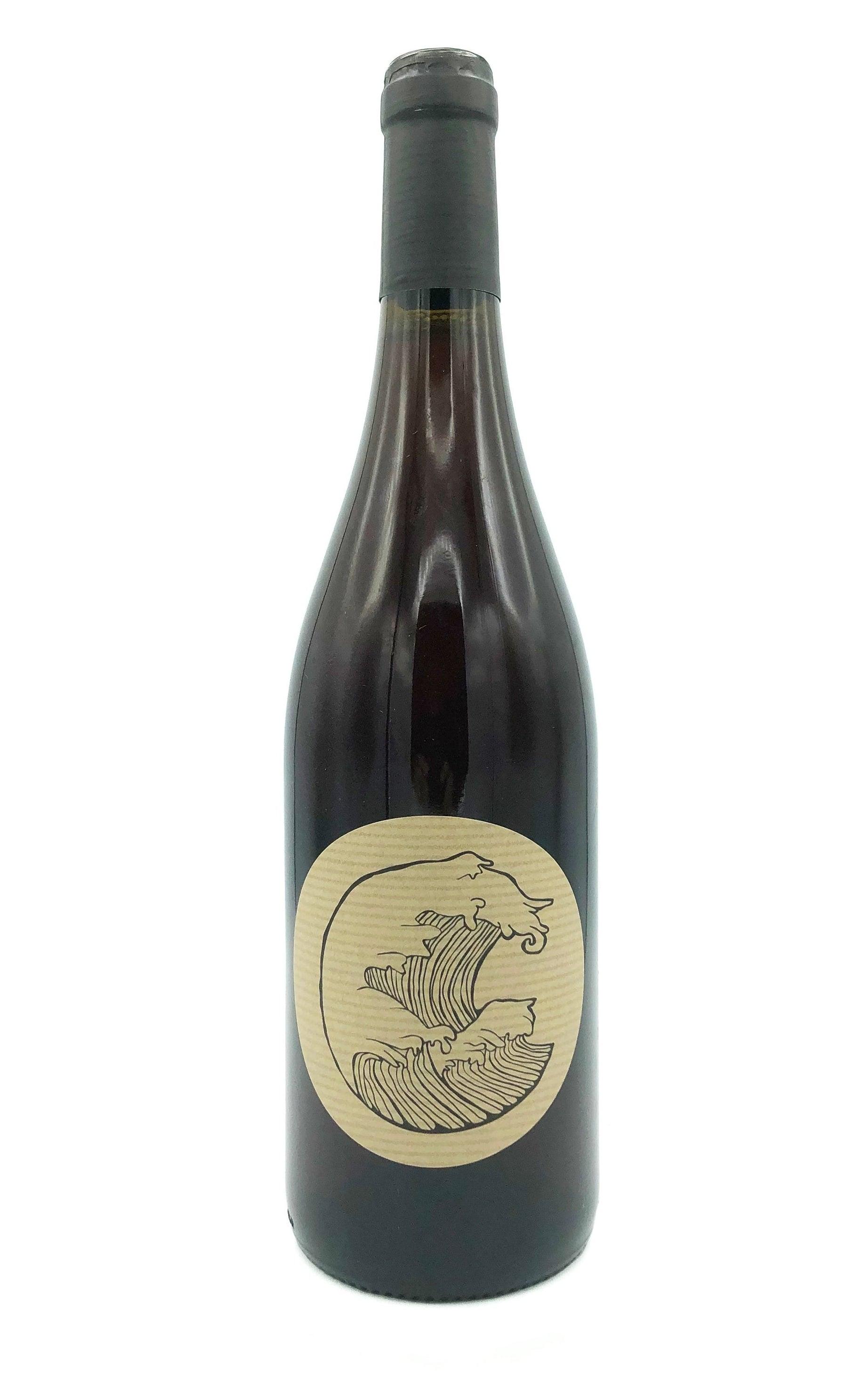 """A bottle of Les Vignes d'Olivier """"Deferlante Red."""""""