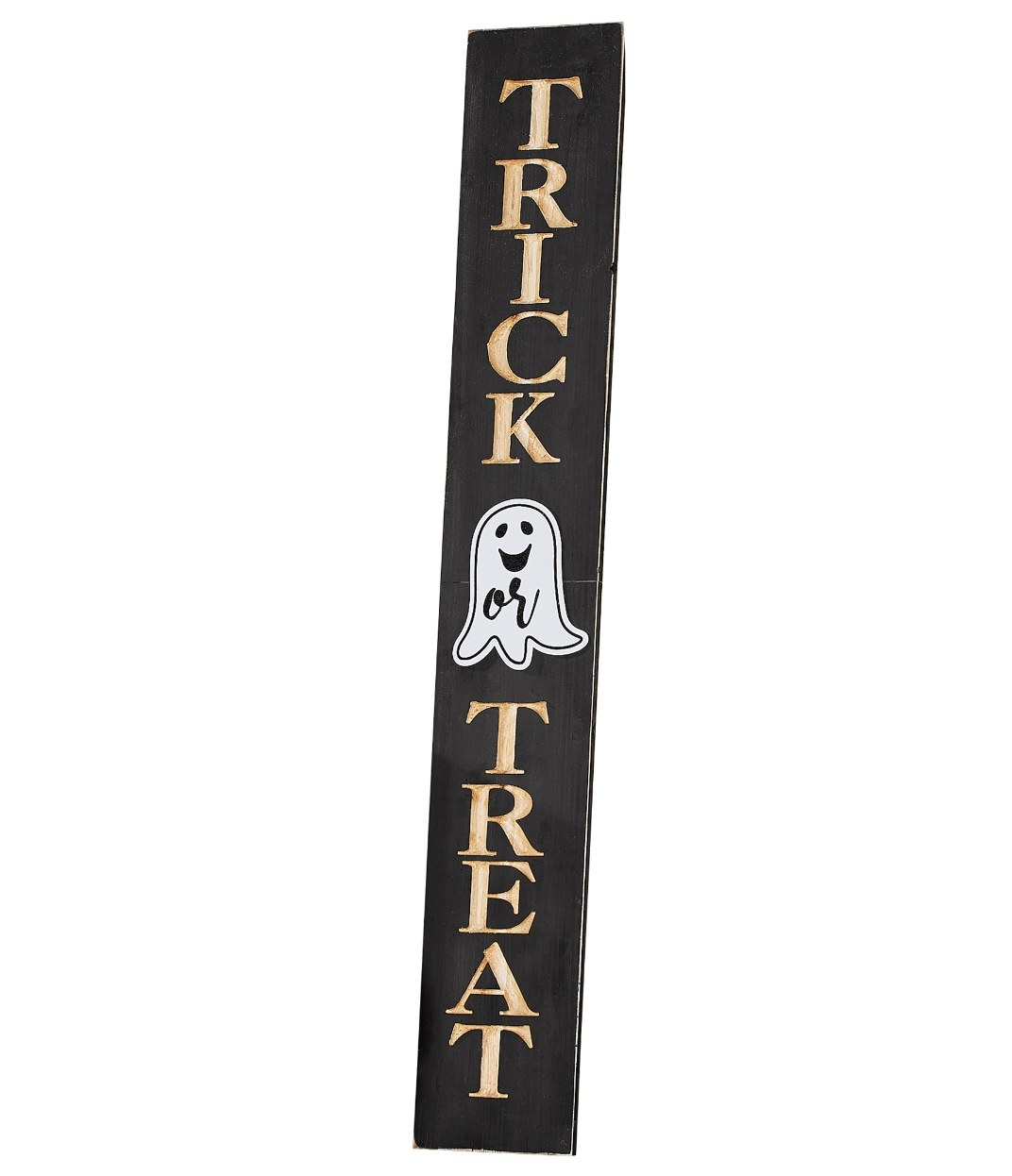 Vertical Trick Or Treat sign