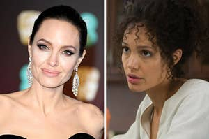 """Angelina Jolie in """"A Mighty Heart."""""""