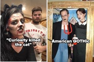 """二万圣节服装:""""好奇害死猫""""和""""美国哥特式"""""""