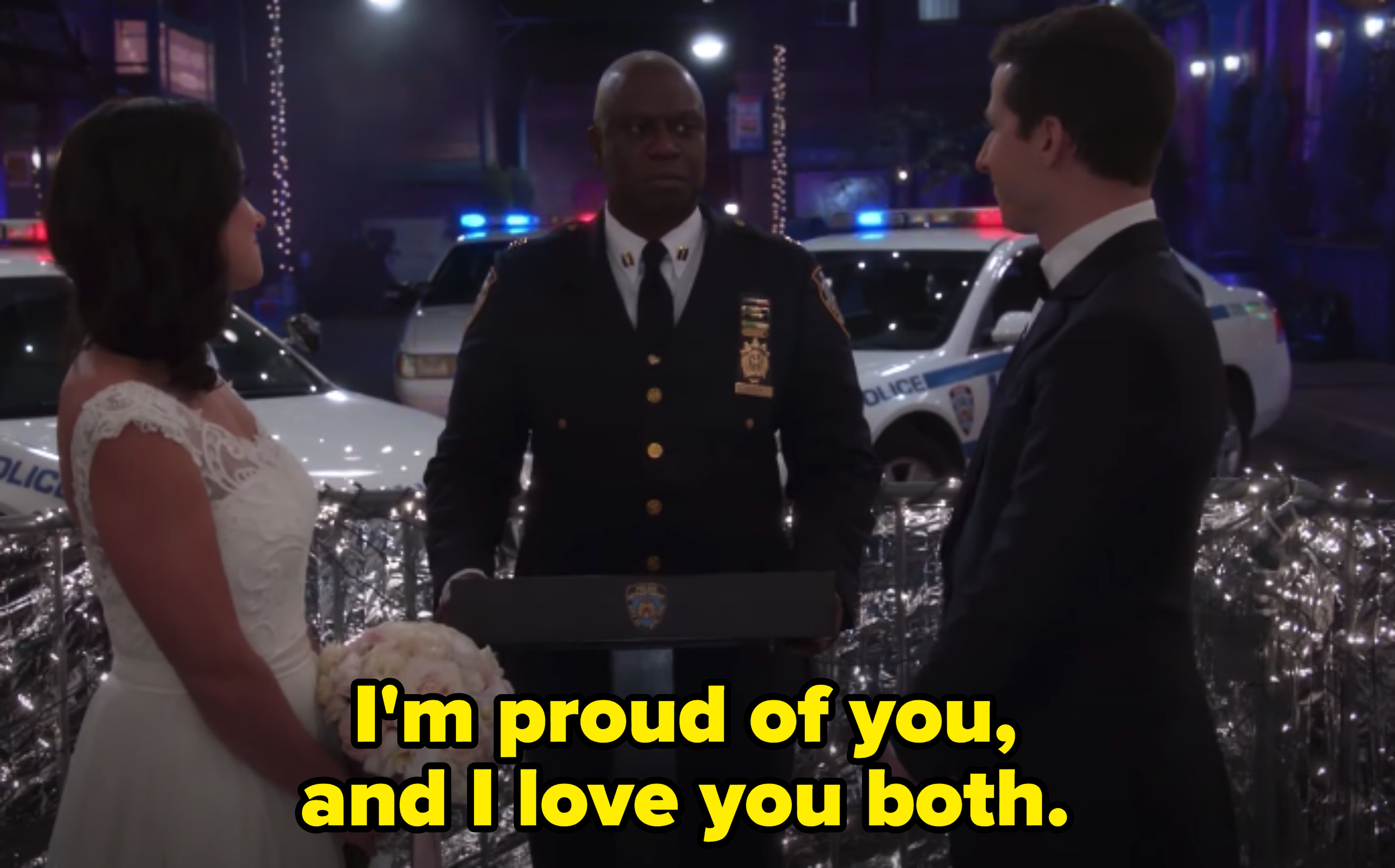 """Captain Holt marrying Jake and Amy on """"Brooklyn Nine-Nine"""""""