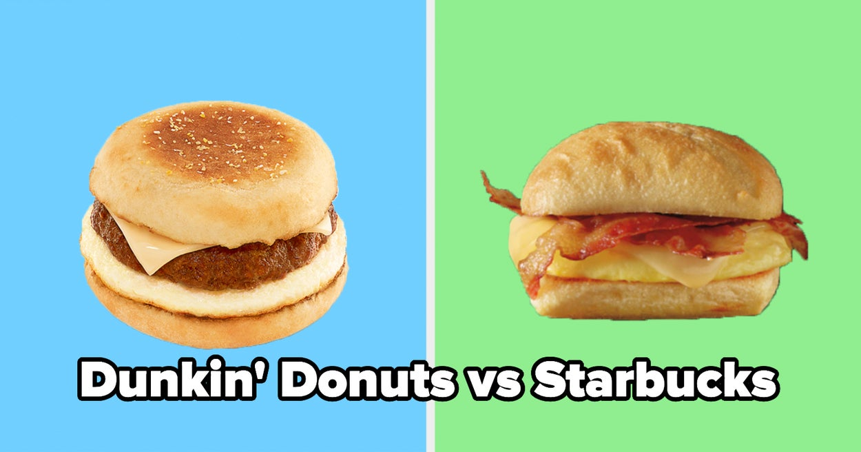 It's Time For The Ultimate Coffee Shop Showdown Of Which Chain Actually Has The Best Items
