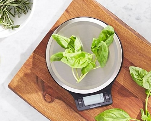 Scale Measuring Spinach