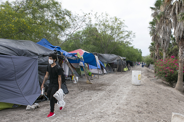 Endless Waits At An Immigrant Camp On The Mexico Border Are Pushing Desperate People To Make Tough Choices