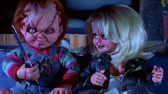 Tiffany Valentine and Chucky from Bride of Chucky