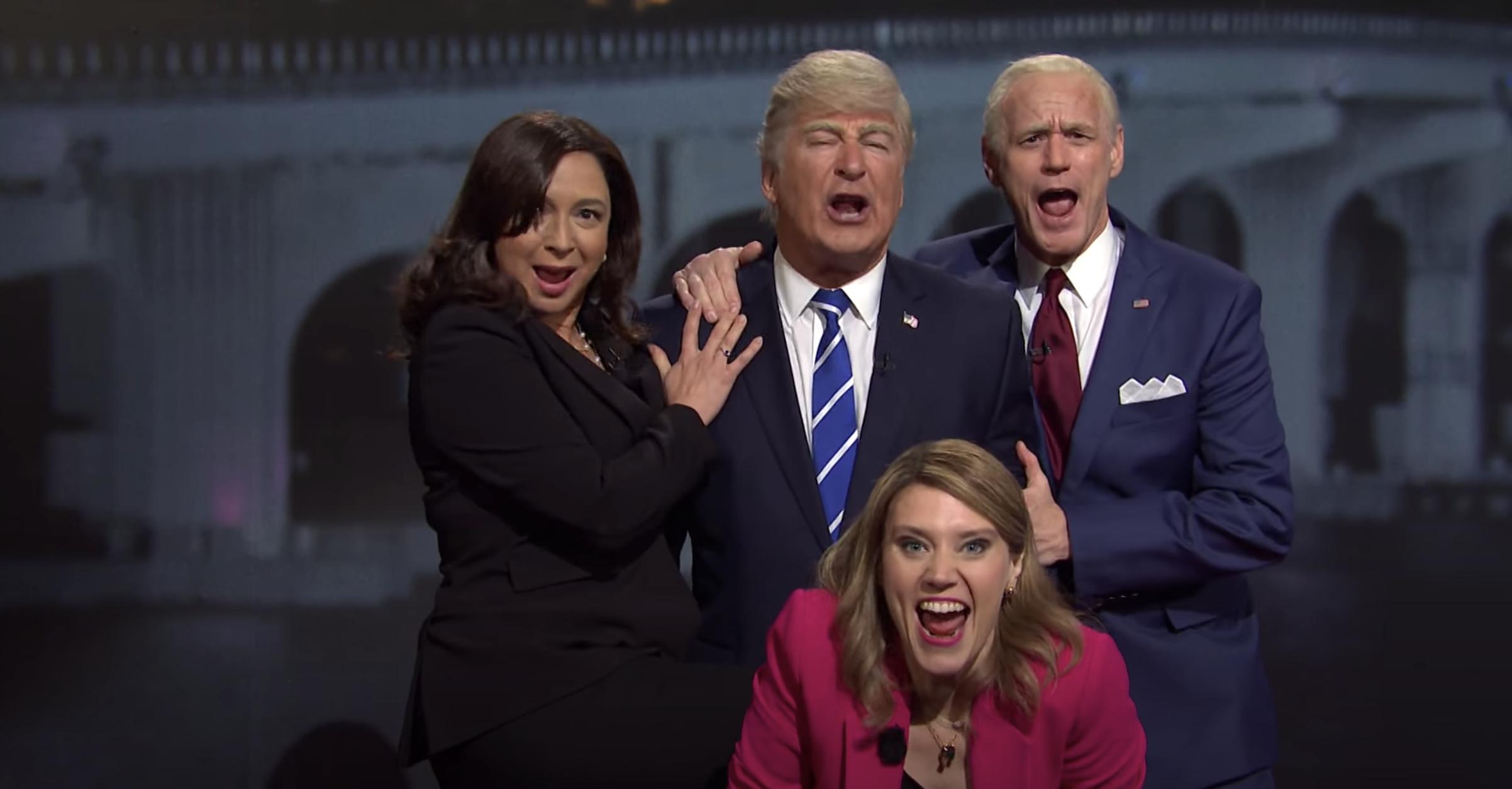 Harris, Trump, Biden, and Savannah