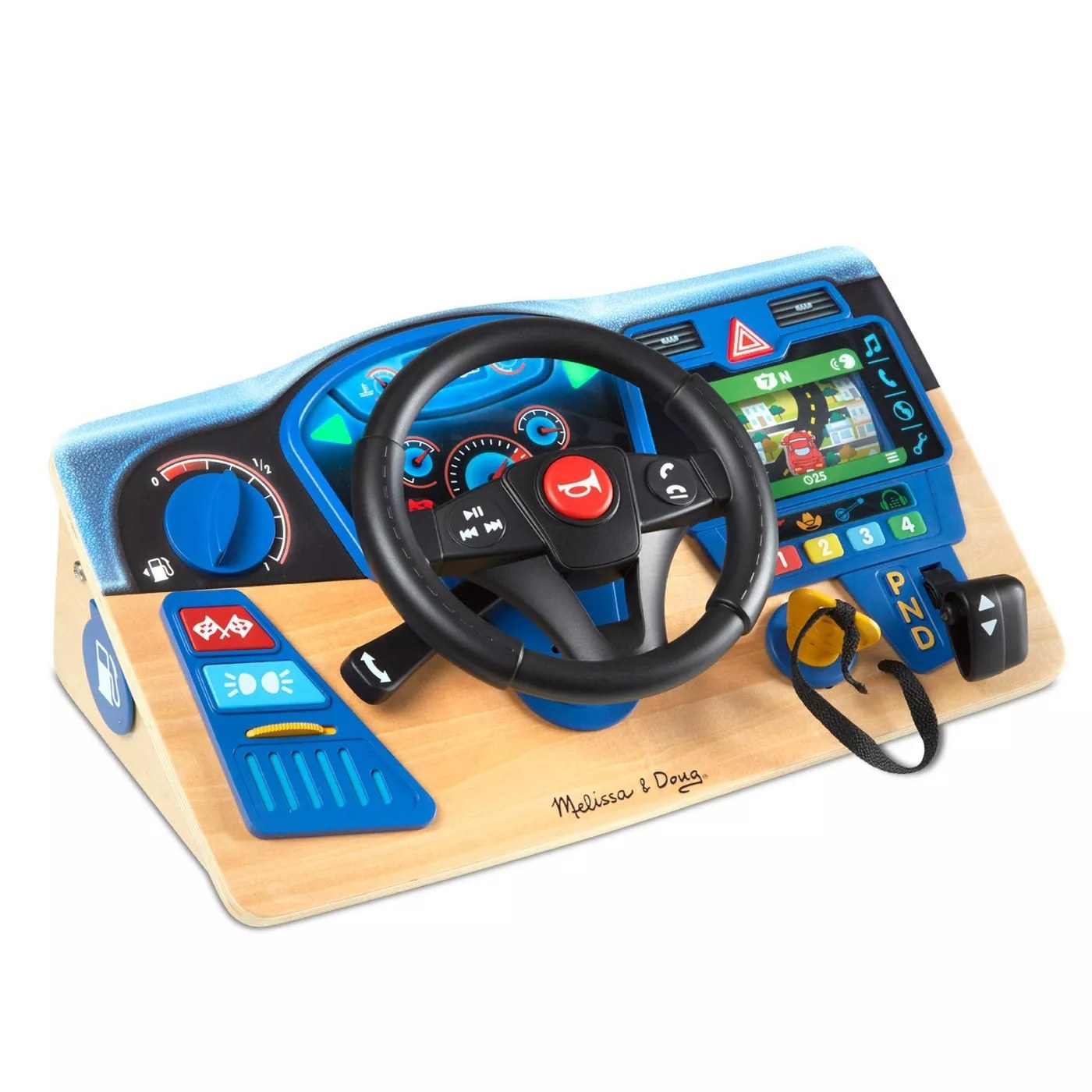 The driving dashboard